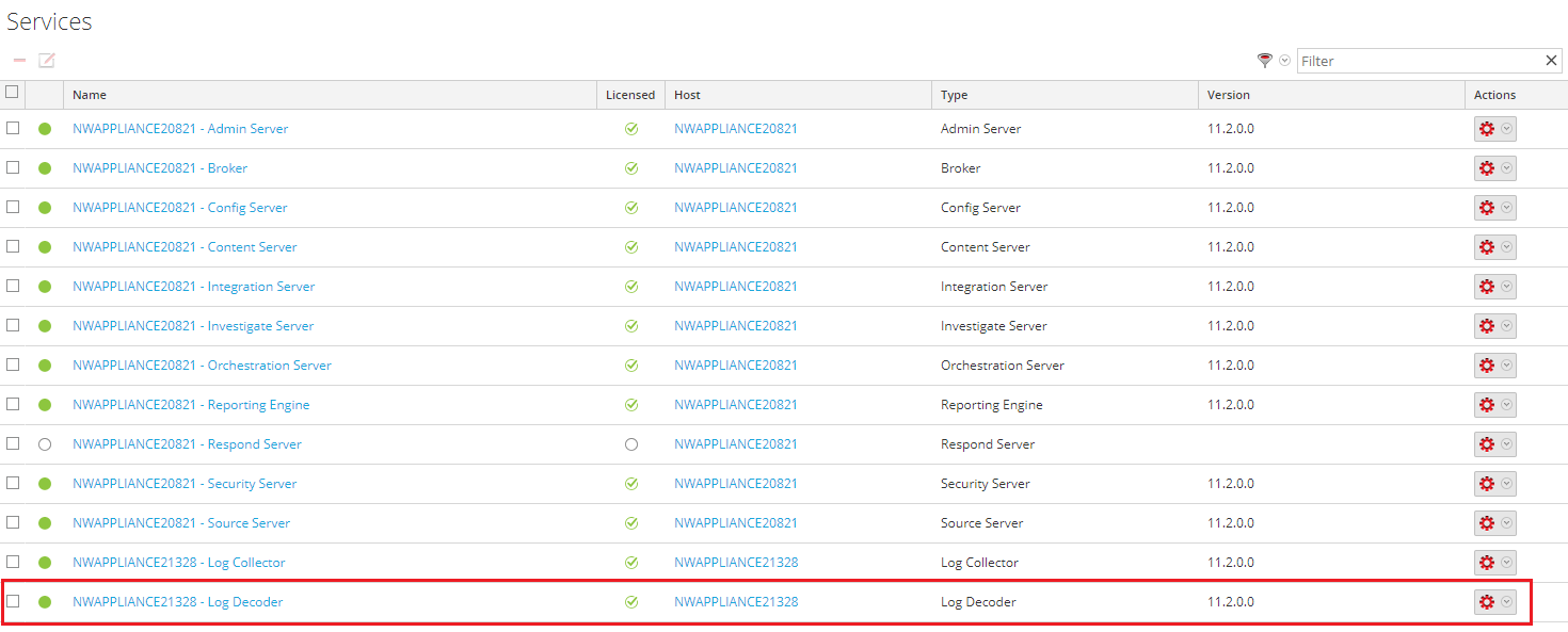 Step 1  Forwarding events from RSA NetWitness