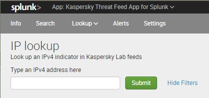About Kaspersky Threat Feed App for Splunk