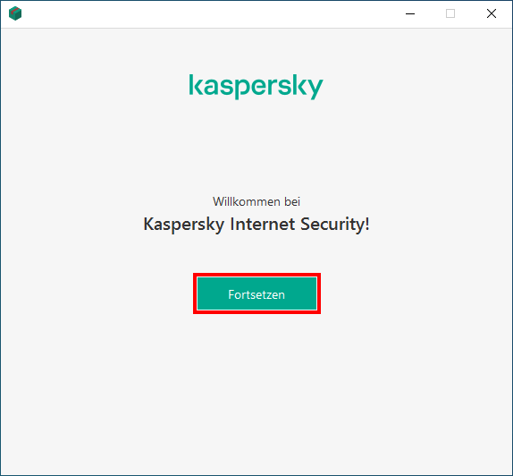Installation von Kaspersky Internet Security
