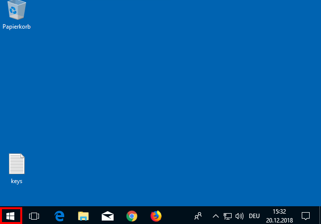 Desktop in Windows