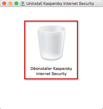 Désinstaller Kaspersky Internet Security 19 for Mac