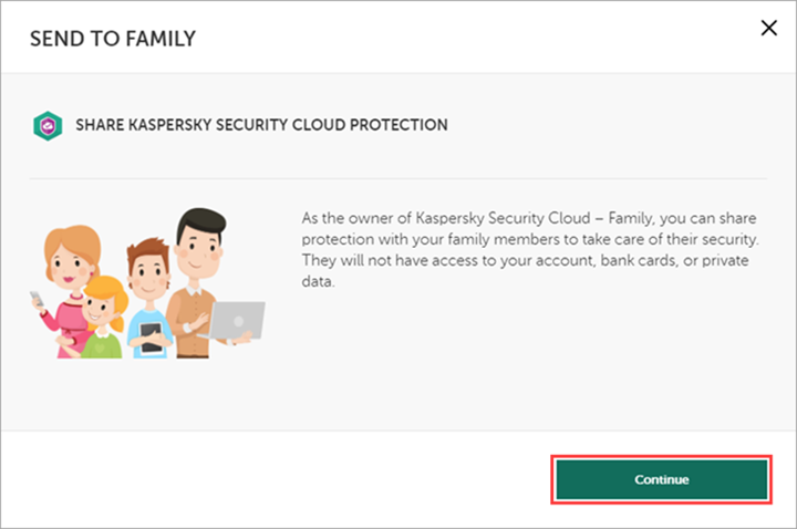 Adding an activation code for Kaspersky Security Cloud 19 to My Kaspersky
