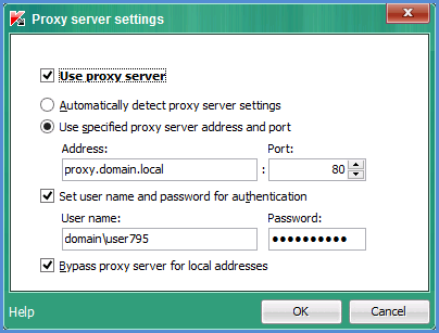 How to configure Internet connection settings in Kaspersky