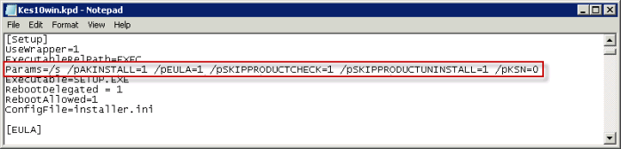 How to install Kaspersky Endpoint Security 10 for Windows bypassing