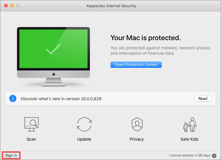 How to connect your device to My Kaspersky