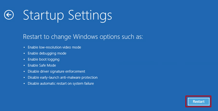 How to start your PC in Safe Mode