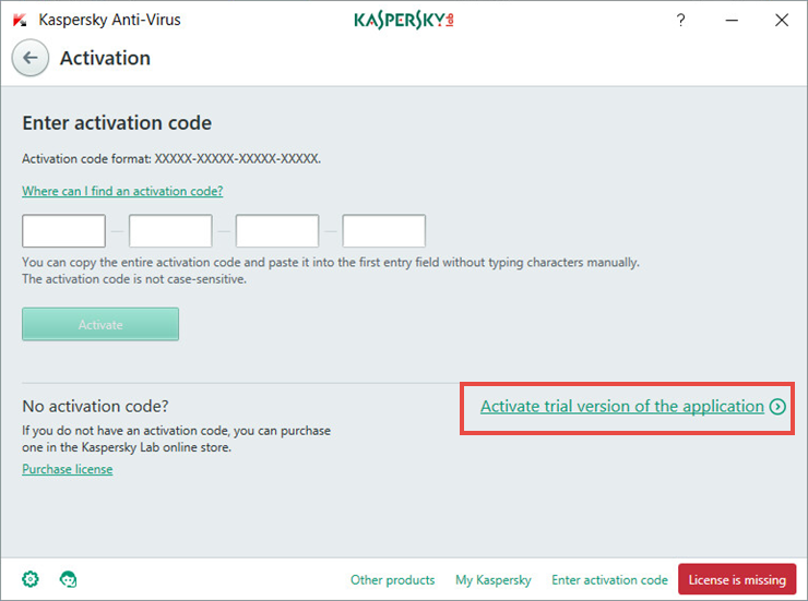 activation code for kaspersky antivirus free