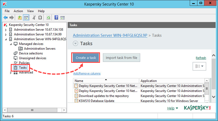 How to install Kaspersky Endpoint Security 10 for Windows
