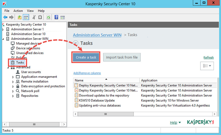 How to remove Kaspersky Endpoint Security 10 for Windows