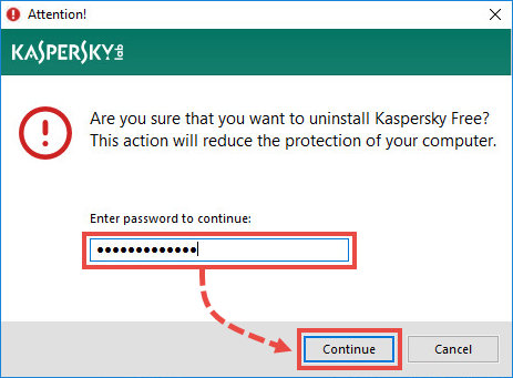 How to remove Kaspersky Free