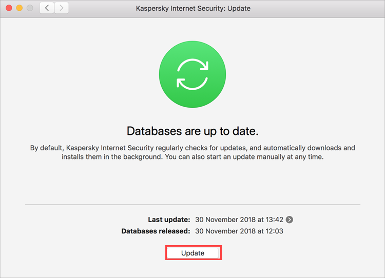 How to uninstall Kaspersky Internet Security 19 for Mac through the application interface