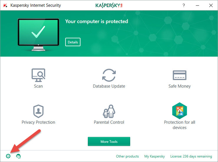 How to configure Kaspersky Internet Security 2018 for better