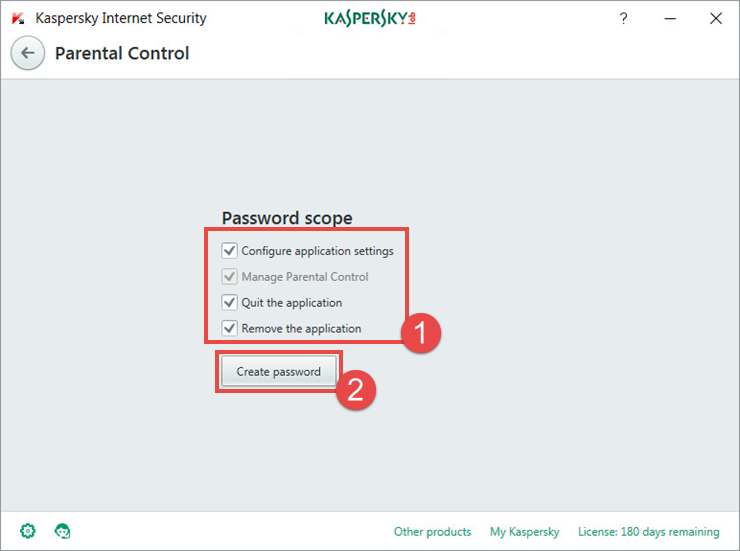 How to set up Parental Control in Kaspersky Internet Security 2018