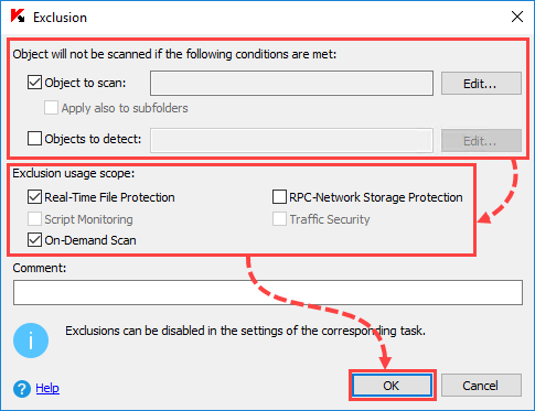How to use the Trusted Zone in Kaspersky Security 10 x for