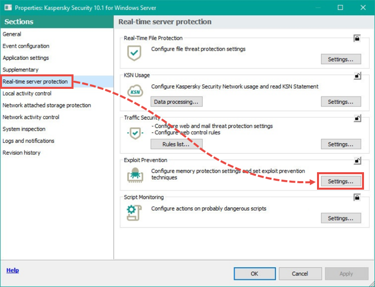 Kaspersky: how to allow teamviewer remote control access to the.