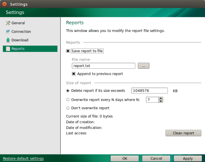 how to manage kaspersky update utility 3 0 for linux freebsd through gui rh support kaspersky com