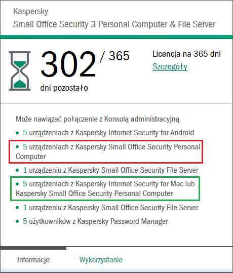 Licencja Kaspersky Small Office Security