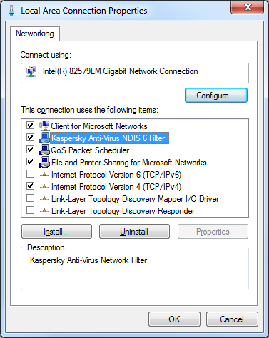 NDIS FILTER MINIPORT WINDOWS 10 DRIVER