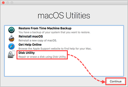 Opening the Disk Utility in Mac OS (OS X) single-user mode