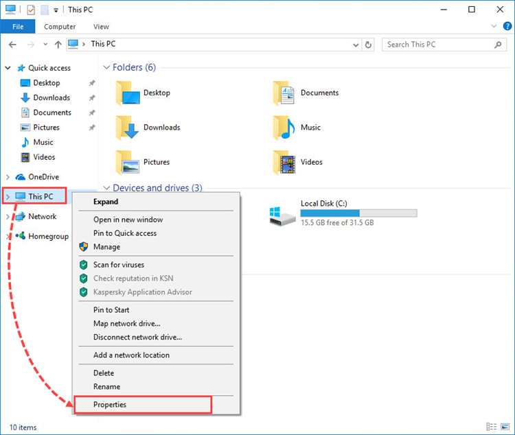 How to turn off System Restore in Windows