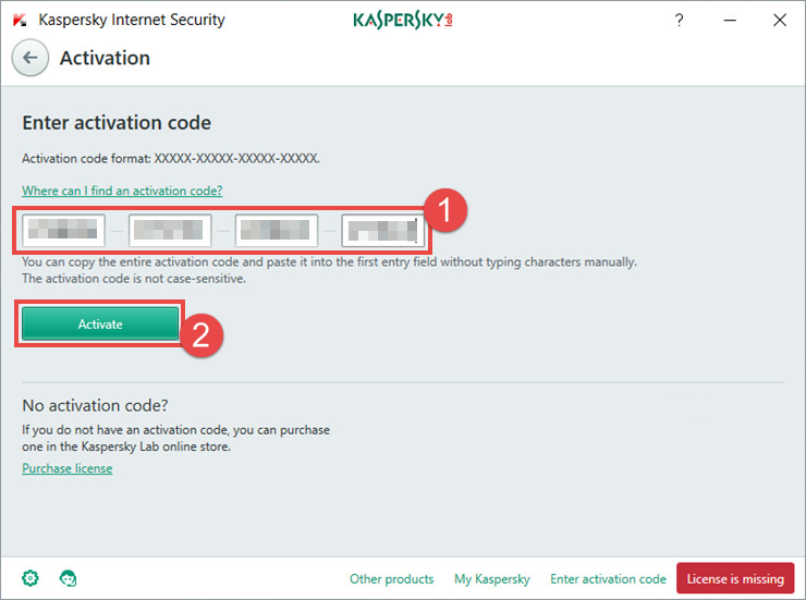 kaspersky 2018 license key