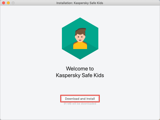 Downloading Kaspersky Safe Kids