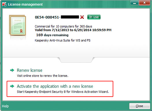 kaspersky endpoint security 10 activation key